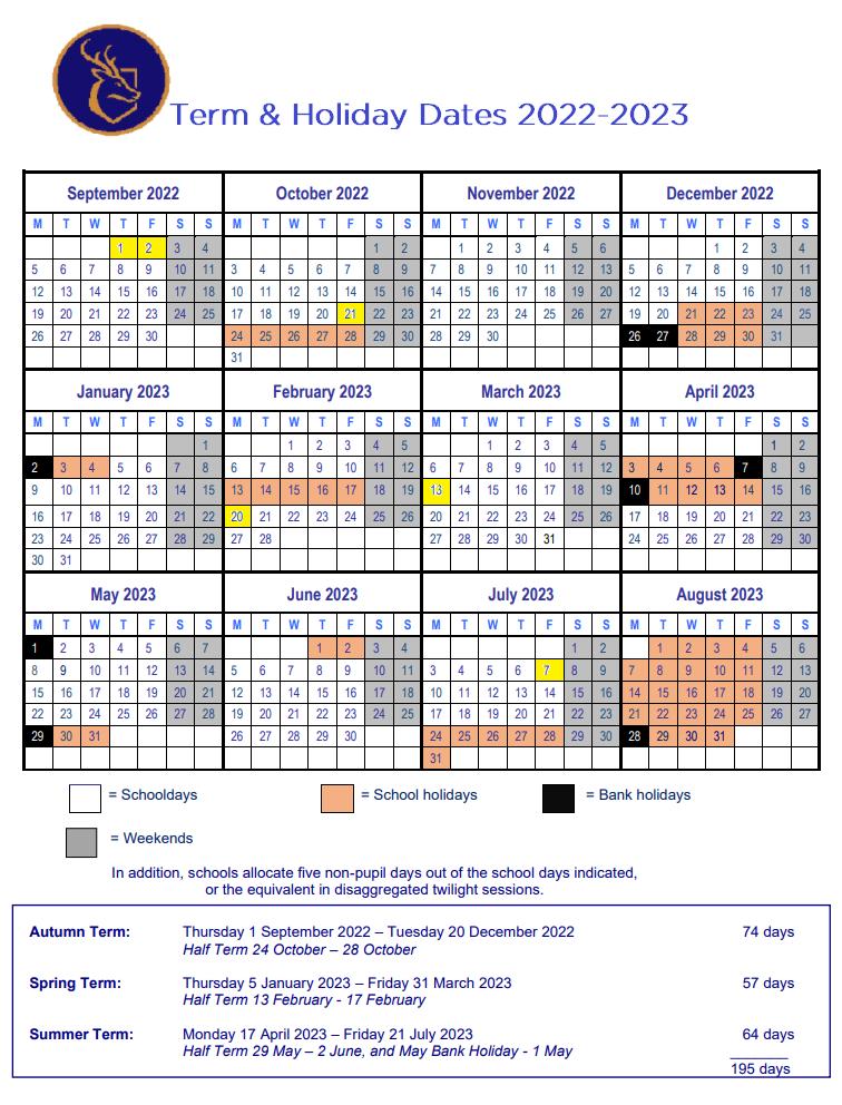 Dates 202223